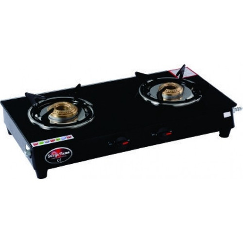 SURYA FLAME 2B REGAL BLK MS NA GAS STOVE