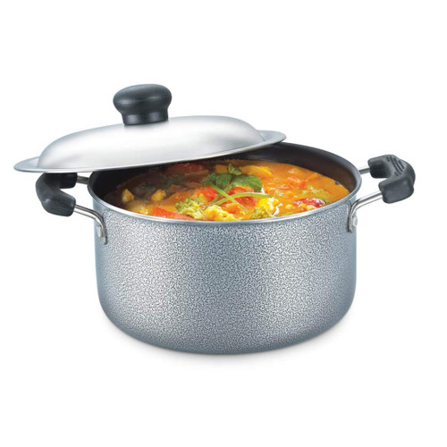 Prestige Omega Select Plus Residue Free Non-Stick Sauce Pan, 250mm