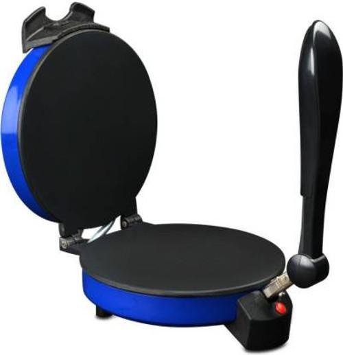 Aiwa 900 watts Non Stick Chapati Maker (Blue)/ Khakhra Maker/Roti Maker (All in One) Sticky Handle Roti and Khakra Maker