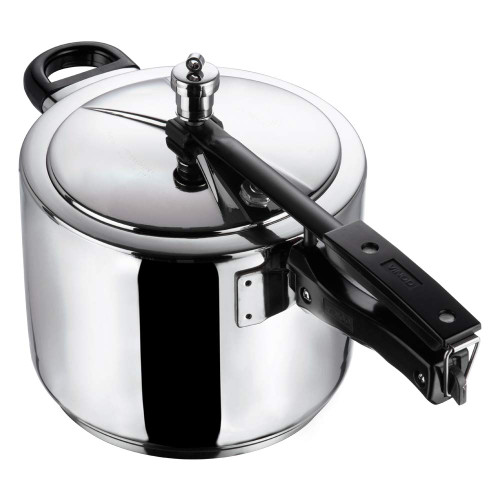 Vinod 18/8 Stainless Steel Inner Lid Pressure Cooker -5 Ltr (Induction Friendly)