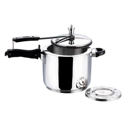 Vinod 18/8 Stainless Steel Inner Lid Pressure Cooker - 7 Ltr (Induction Friendly)