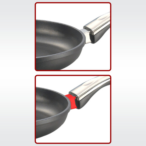 Prestige Die Cast Plus Fry Pan 200mm With Heat Indicator
