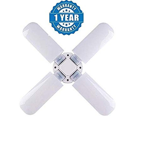 Renyke CKV_1 B22 Fan Blade led Light Bulb Super Bright Angle Adjustable Home Ceiling Lights Cool White Light ((Color May Vary) (fan bulb)