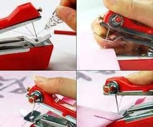 Brand new mini chain stitch sewing machine cloth self-feeding you need only up-and-down motion