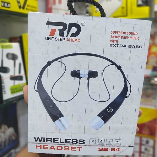 RD SB-94  Neckband Wireless Headset With Extra Bass