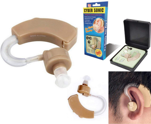Cyber Sonic Personal Sound Amplifier And For Ear Better Hearing Aid Device