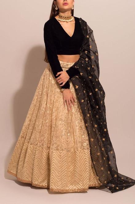 New Designer Amzaing Lehenga With Blouse Dupatta Choli