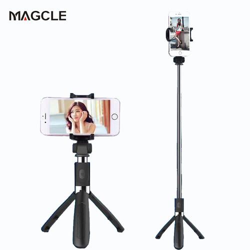 Magcle Bluetooth Selfie Stick Tripod Mini wireless Extendable Monopod Selfie Stick Tripod + Remote controller for xiaomi iphone