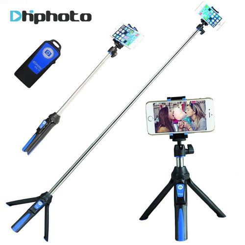 BENRO 33inch Handheld Tripod Selfie Stick 3 in 1 Bluetooth Extendable Monopod Selfie Stick Tripod for iPhone 8 Samsung Gopro 4 5