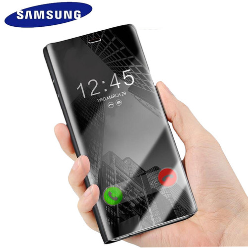 Samsung S7 Case Cover Original Mirror Clear View Flip Case For Galaxy S7 G930 S7 Edge G935 lntelligent Sleep Protective Case