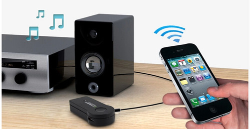 Car  Audio reciver hands-free music receiver Bluetooth music receiver compatible for iphone Android PC