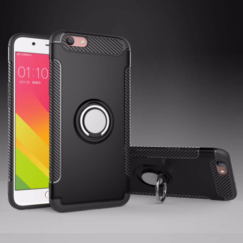 Coque For OPPO A59 Phone Bags Finger Ring Holder Stand Magnetic Car TPU + PC Phone Case For OPPO F1s A59 Cases Back Cover Fundas