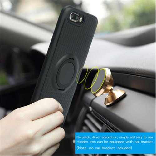 For OPPO F3 A77 / F5 case Ring Holder Magnetic Car Holder Case for Oppo F3 plus A33 A37 A39 A57 A59 R11 Plus soft tpu cover