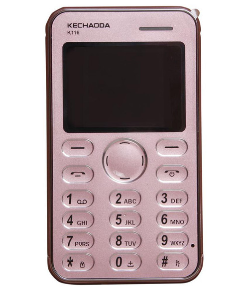 Smart Looking Credit card Size Mobile Phone (K116)