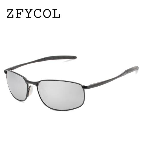 ZFYCOL 2017 Sunglasses Men Polarized Famous Brand Designer Driving Sun glasses Male Mirror Lens Gafas Oculos UV400