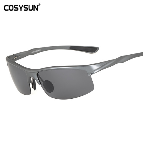 COSYSUN Brand Aluminum Polarized Sunglasses Men Sports Sun Glasses Driving Glasses Mirror Goggle Eyewear oculos de sol CS0213