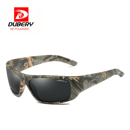 DUBERY  2018 Men's Polarized Sunglasses Aviation Driving Shades Male Sun Glasses  Men Retro Sport Luxury Brand Designer Oculos