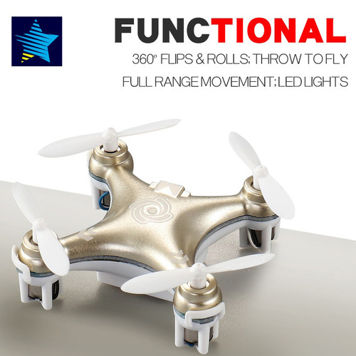 Cheerson CX-10 CX-10A Mini Drone Rc Helicopter 4CH 6 Axis RC Remote Control Quadcopter with Led Light Aircraft RTF Drone (Cheerson CX-10 CX-10A Mini Drone