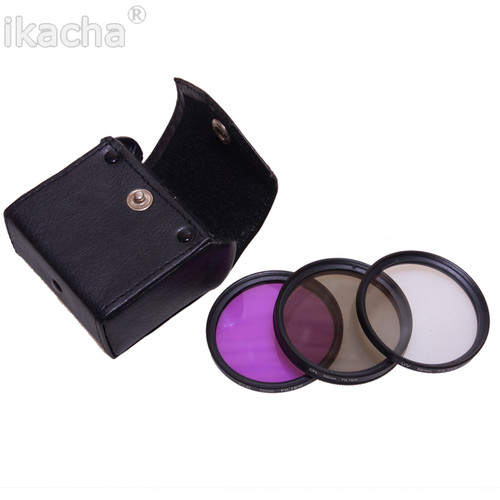 49 52 55 58 67 77 mm Lens cap Lens Hood UV CPL FLD Filter Set for Nikon D600 D3200 D3100 D7000 D5100 D80 D300S DSLR Camera