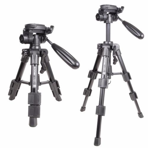 Zomei Lightweight Q100 CK30 Mini Travel Tabletop table tripod Desktop Tripod for Canon Nikon DSLR Camera and Mobile Phone