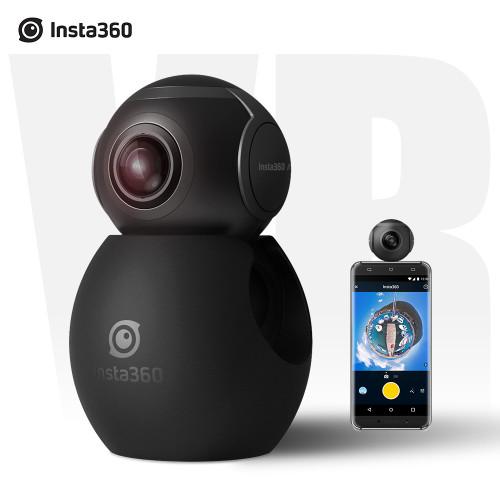 Insta360 Air Panoramic 360 Camera 3K HD Mini Camera Dual Wide Lens VR 360 Video Camera for OPPO/Huawei/LG Andriod Smartphones