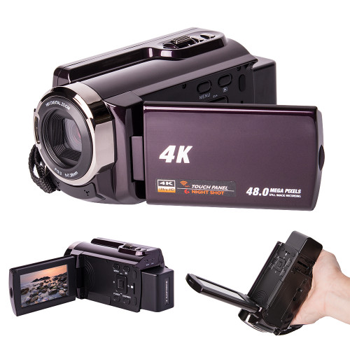 2017 New 3.0 Inch Ultra HD 4K Wifi Wireless Digital Camera 24MP CMOS 1080P Night Version DV Camcorder Video Recorder Camera