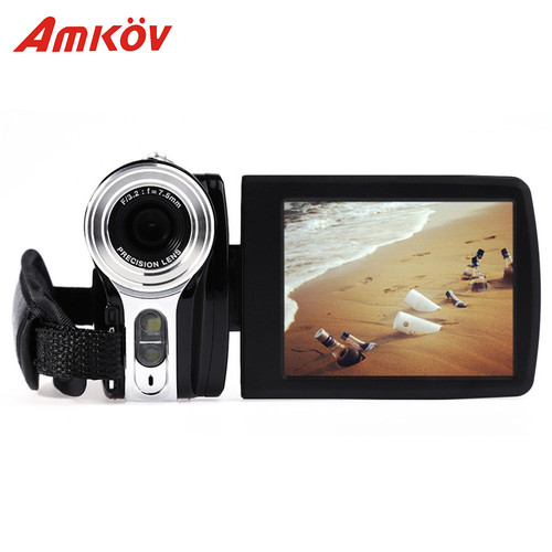 Amkov AMK-DV164 Digital Cameras Professional Camera 3'' 720P 20MP 20*16.2*12.2 cm Digital Zoom Video DV Video Camera HD Camera