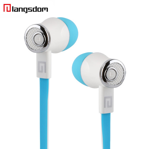 Wholesale 10pcs/lot Langsdom JM21 In-ear Earphone 3.5MM Stereo HIFI Earphones Super Bass Earbuds With Microphone