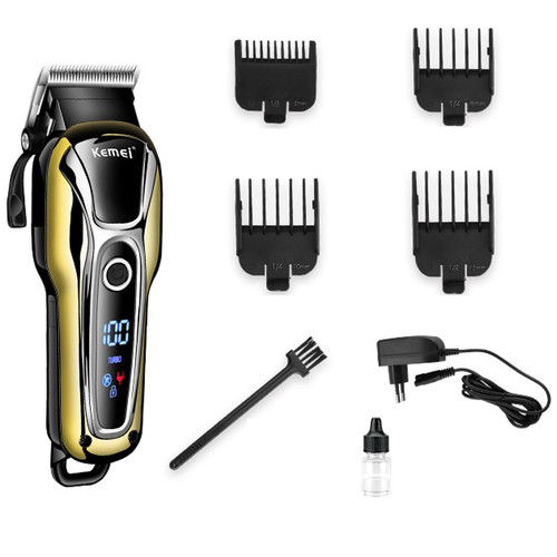 110v-240v Turbocharged rechargeable hair clipper professional hair trimmer for men electric cutter hair cutting machine haircut