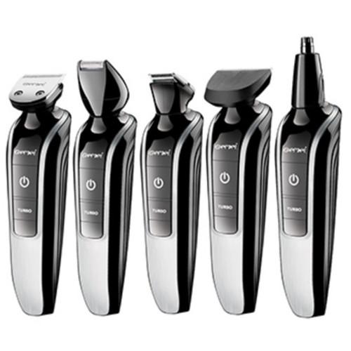 Men's grooming kit trimmer hair clipper turbo beard trimmer stubble precision shaping nose ear trimer facial shaving machine