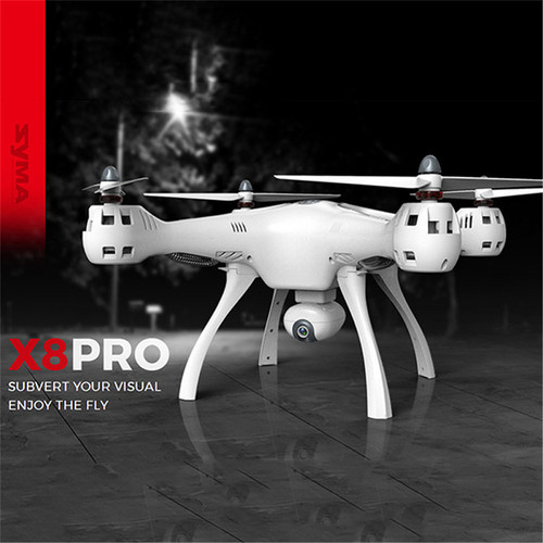 Original SYMA X8 PRO GPS DRONE RC Quadcopter With Wifi 720P Camera Professional FPV Drone Auto Return RC Helicopter VS CX20