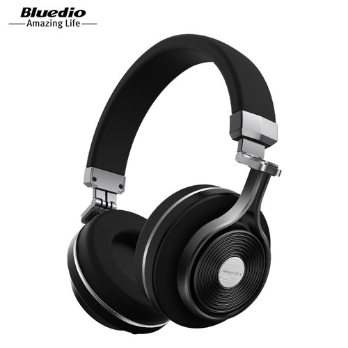 Bluedio T3 Wireless Bluetooth Headphones/headset with microphone for music wireless earphone