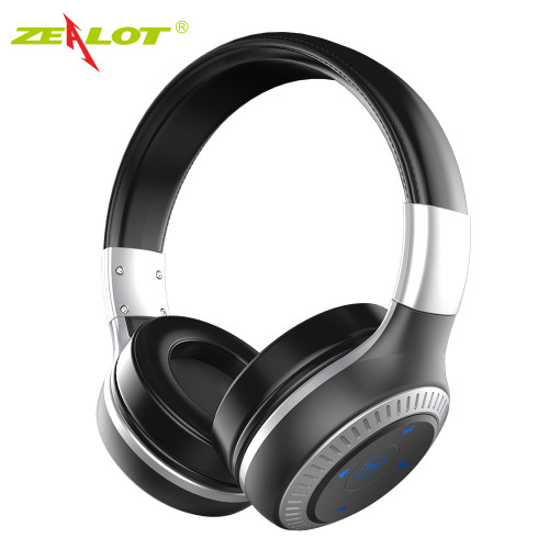 ZEALOT B20 Wireless Bluetooth Headphones Bluetooth 4.1 with HD Sound Bass stereo Earphone Headphones with Mic on-Ear Headset