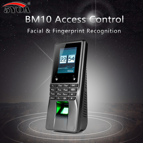 BM10 Biometric Facial Face Fingerprint Access Control Time Attendance Machine