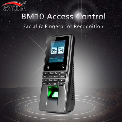 BM10 Biometric Facial Face Fingerprint Access Control Time Attendance Machine