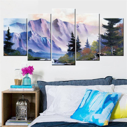 5 Pieces/set Canvas Painting modern Wall Art Adornment  Decoration Print Canvas Print Painting Pictures framework Poster  paints