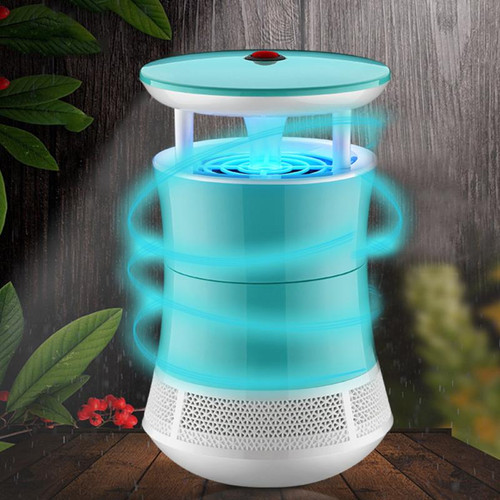2017 Hot Selling LED Photocatalysis Electronic Mosquito Killer Lamp Insect Trap Bug Repellent Mosquito Killer Lamp Summer Supply
