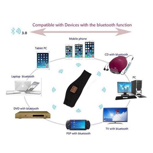 Men&Women Summer Outdoor Sport Wireless Bluetooth Earphone Stereo Magic Music Smart Electronics Headbands for iPhone SmartPhone