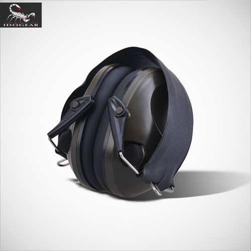 IDOGEAR TAC 6S Electronic Headset Shooting Paintball Equipment Tactical Noise Cancelling headphone EC3701 Black Olive