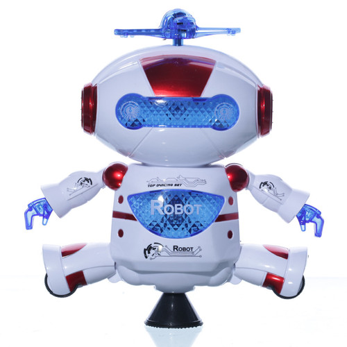 Smart Space Dance Robot Electronic Walking Toys With Music Light Gift For Kids Astronaut Toy to Child