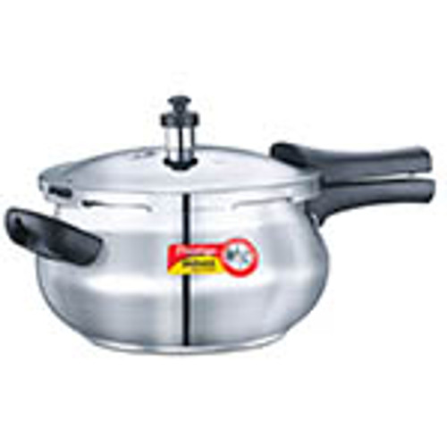 Prestige Deluxe Alpha Stainless Steel Junior Handi 4.4 Ltr