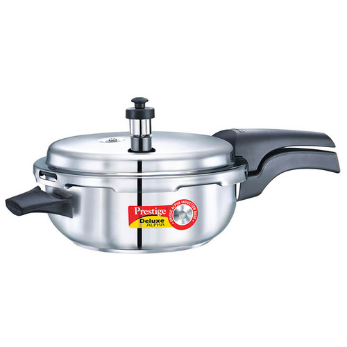 Prestige Deluxe Alpha Stainless Steel Senior Pan