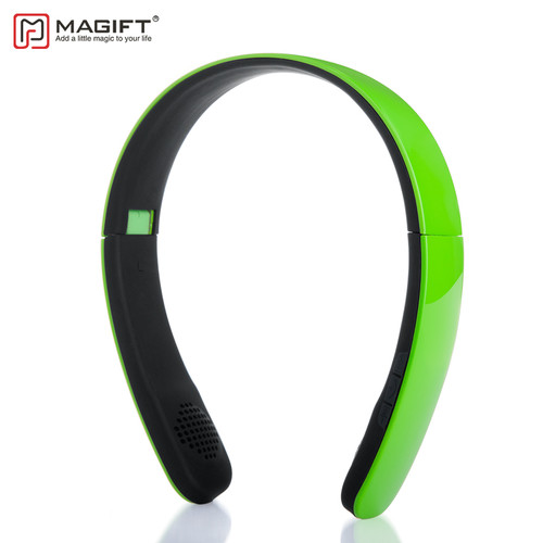 Magift1 Bluetooth Wireless Earphones Handsfree Calls with Micphone Headband for Smartphones Stereo Music Wireless Earphones