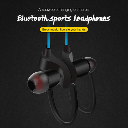Waterproof BluetoothV4.2 Wireless Headset Neckband Handsfree Stereo Sport Earphone With Microphone For IPhone 7 7PLUS 6S Samsung
