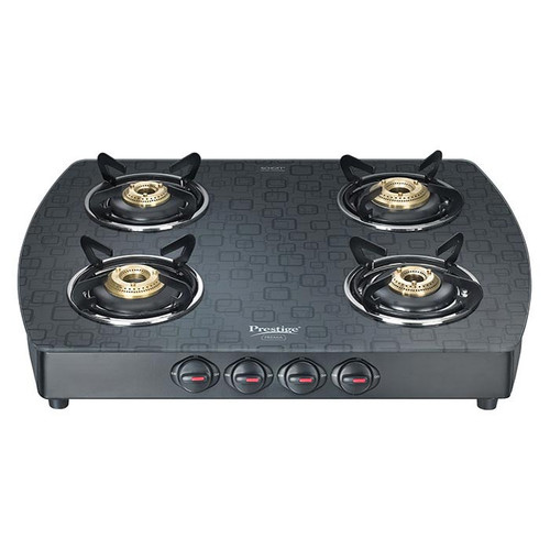 Prestige Schott Glass Top Gas Stoves GTS 04 - D