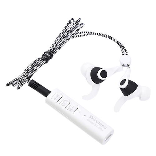 ST-004 Sport Stereo Wireless Bluetooth Headset Metal Shoelace Earphone Handsfree Microphone Earbuds For xaomi Phone MP3 Player