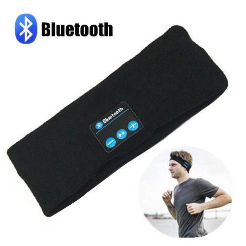 Outdoor Bluetooth Music Headband Wireless Handsfree Sport Running Headphones Stereo Earphones with Built in Mic for Smartphones