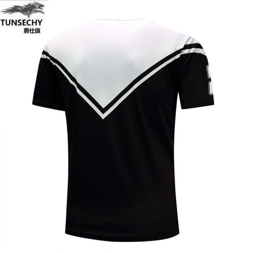 TUNSECHY 2018 new summer new men's leisure short sleeved T-shirt