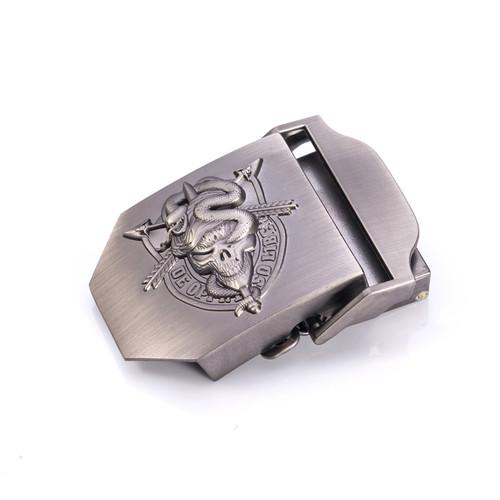 Men's Canvas belt skull Metal buckle tactics woven belt Fashion dress Cool wild pants knitted belt strap ceintures freeshipping