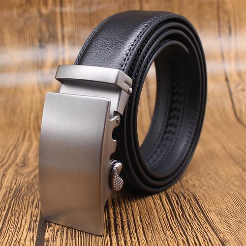 CETIRI brand trending designer belts for men sliding buckle ratchet luxury leather men belt automatic waist belt ceinture homme